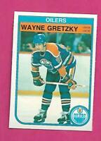 1982-83 OPC # 106 OILERS WAYNE GRETZKY NRMT-MT  CARD (INV# D0584)