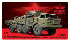1/72 ZIL-135 9T452 Reloader Truck for URAGAN resin kit w PE parts Armada E72023