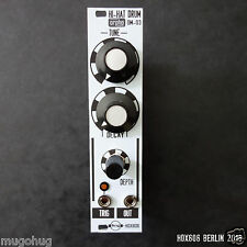 ANALOG HI HAT DRUM MODULE- Orpho Modular OM-03 for EURORACK, Doepfer compatible