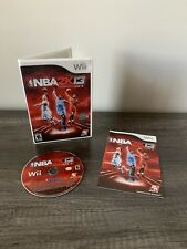 NBA 2K13 (Nintendo Wii, 2012) Complete With Manual CIB Tested Works