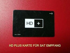 HD+Plus Karte Chipkarte Vers.HD05A Neu  mit 6 Monate Guthaben für HD+ Modul