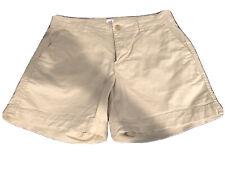 """Women Gap 4"""" Kahki Shorts Size O"""