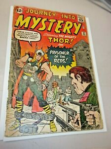 JOURNEY INTO MYSTERY #87 5TH THOR APPEARANCE JACK KIRBY Intro Grade Key