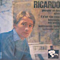 ++RICARDO pourquoi se dire adieu/il n'est rien resté/sentimentale sonia EP VG++