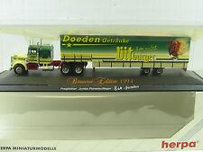 HERPA Freightliner Jumbo semi-remorque brasserie Edition 1994 Bitburger/x2064
