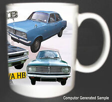 VAUXHALL VIVA HB CLASSIC CAR MUG LIMITED EDITION 2010