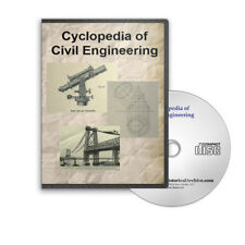 Cyclopedia of Civil Engineering Surveying Topography More 8 Volume Set  CD D221