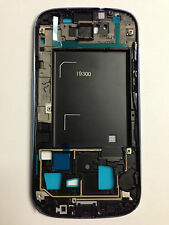 OEM Front Cover Housing Frame Panel for Samsung Galaxy S3 GT-i9300 Pebble Blue