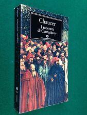 Geoffrey CHAUCER - I RACCONTI DI CANTERBURY , Oscar Mondadori (2000)