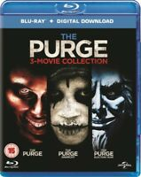 The Purge / The Purge - Anarchy / The Purge - Election Year Blu-Ray NEW BLU-RAY