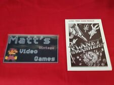 Planet Smashers (Atari 7800) Instruction Booklet Manual Only