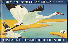 BROOKE BOND CANADA - RARE ALBUM + SET OF 48 BIRDS OF NORTH AMERICA CARDS - 1962