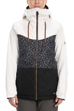 Brand New Womens 2020 686 Athena Insulated Snow Jacket Black Angular Colorblock