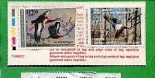ARKANSAS 1990 Resident Sportsman License W/ RW57 + AR10 Duck Stamp - 704