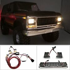 OneLine Car LED Lights Lamps for 1:10 RC Traxxas TRX-4 Ford Bronco Body Car