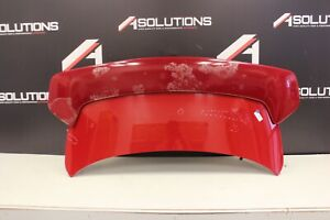 2003-2007 INFINITI G35 COUPE TRUNK LID SPOILER WITH LIGHT OEM RED