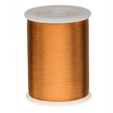 "42 AWG Gauge Heavy Formvar Copper Magnet Wire 8oz 24800' 0.0029"" 105C Amber"
