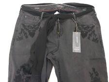 bcab15cd2a2 Torrid Size 16 Premium Stretch Cropped BOYFRIEND Jeans Black Embroidered