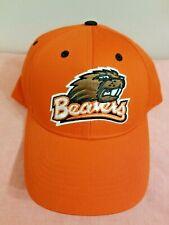 Oregon State Beavers Mens One Sz Hat Orange Adjustable Baseball Cap New