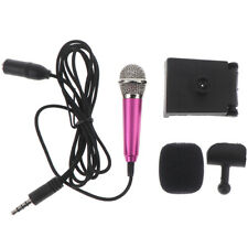 Tragbares 3,5-mm-Stereo-Studiomikrofon KTV Karaoke-Minimikrofon für Handy-PC B_R