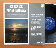 Classics From Norway Fjeldstad Oslo Philharmonic NM STEREO Philips A 631 099 L
