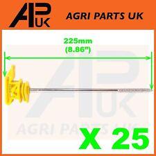 25 clôture électrique long vis Poly Ruban Ruban isolants 20 mm 40 mm Off Set corde