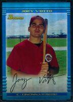 Joey Votto ⚾ 2013 Bowman Chrome Blue Sapphire Refractor Rookie Reprint 2002