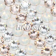 Swarovski Rhinestone Flatback Crystal ss9 Mix Color White Opal Silk Crystal #313