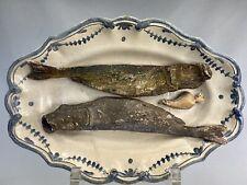 SUIVEUR DE PALISSY PLAT CERAMIQUE TROMPE L'OEIL LEON BRARD (1830-1902) MAJOLICA