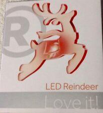 LED SMALL CHRISTMAS REINDEER 6301336 Color Changing USB Radio Shack