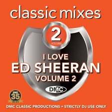 Ed Sheeran Vol 2 Megamixes & 2 Trackers Mixes Remixes Ft Marvin Gaye DJ CD
