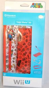 Nintendo Wii-U Super Mario 4pc Start Kit Bundle New Sealed