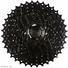 Sunrace CSMS1 11-36 10-Speed MTB Bicycle Cassette 11-36T fits SRAM/Shimano Black
