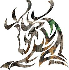 Trible Camo Buck decal