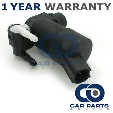 FOR FORD MONDEO MK4 (2004-2015) FRONT & REAR TWIN OUTLET WINDSCREEN WASHER PUMP