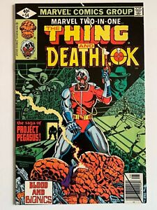Marvel Two-In-One 54 The Thing and Deathlok Marvel Comics 1979 1st Grapplers