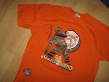 KC Monarchs Tee - Negro League Henderson O'Neil McCoy Autograph USA T Shirt XLrg