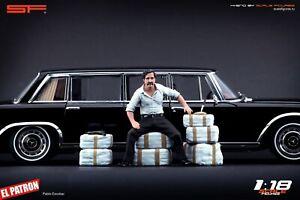 1:18 Pablo Escobar figurine VERY RARE!!! NO CARS !! for diecast by SF