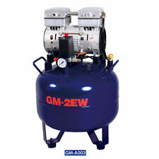 32L Medical Dental Air Compressor Noiseless Silent Quiet Oil-less Oil Free 850W