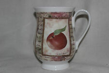 Mug Cup Tasse à café  Royal Burlington Apple Plum Pear Staffordshire Bone China