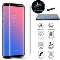 For Samsung Galaxy Note 9  Nano UV Liquid Glue Tempered Glass Screen Protector