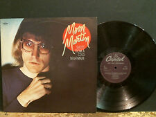MOON MARTIN  Shots From A Cold Nightmare   LP     PROMO   Lovely copy!