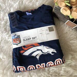 NFL denver Broncos Mens Sleep Set NEW