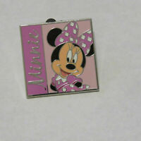 Disney Minnie Mouse Square Starter Pin