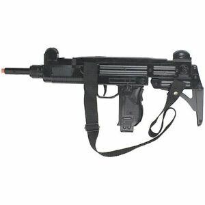 NEW GONHER UZI Israeli Style Assault Cap Gun Rifle - Black Finish