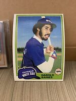 1981 Topps Baseball Complete Cards 1-726, EX-MT