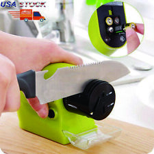 Speedy Electric Kitchen Knife Sharpener Multifunction Swifty Sharp Smart Sharp