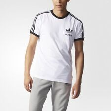 adidas T-shirt Men California Aj8833 White L