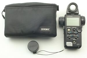 [TOP MINT CASE] Sekonic L-758 D L758 Digital Master Light Meter FROM JAPAN