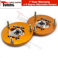 For BMW E36 3 Series 318 323 325 M3 1992—1999 Front Coilover Camber Plates Pair